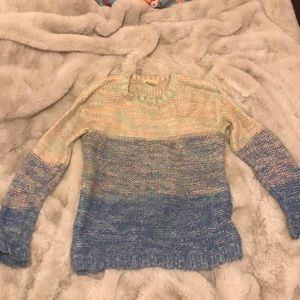 Ombré Forever 21 sweater